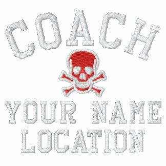 Personifizieren Sie Trainer Ihr Name Ihr Spiel! Bestickte Polos