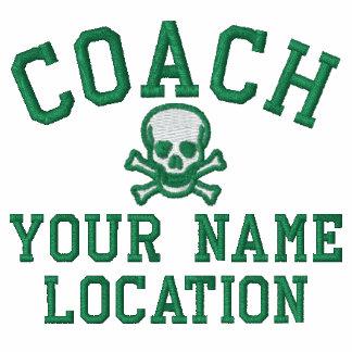 Personifizieren Sie Trainer Ihr Name Ihr Spiel! Besticktes Polo Hemd