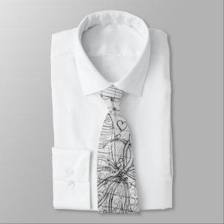 Personifizieren Sie:  Übergeben Sie gezeichnete Krawatten