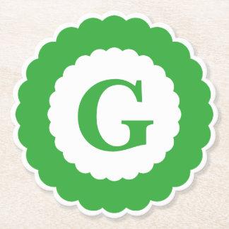 Personifizieren Sie: Unbedeutende grüne Untersetzer