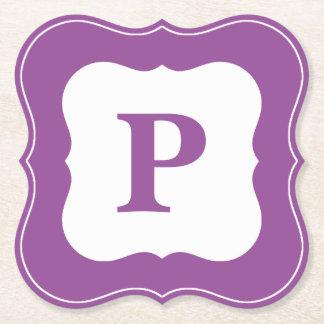 Personifizieren Sie: Unbedeutende lila Untersetzer