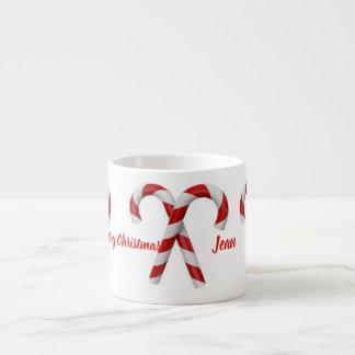 Personifizieren Sie WeihnachtsTasse Espressotasse