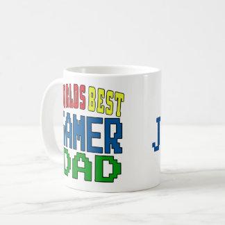 Personifizieren Sie. Weltbester Gamer-Vati-Becher Kaffeetasse