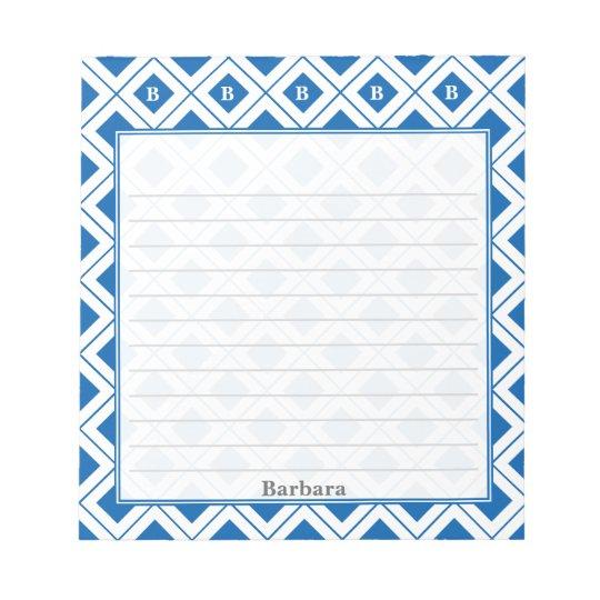 Personifizieren Sie: Zeichnen Sie die Notizblock