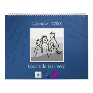 Persönliche 13 Fotos und kundenspezifischer Text Kalender