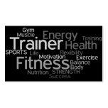 Persönliche Trainer-Visitenkarte