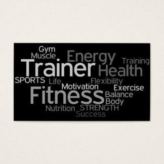 Persönliche Trainer-Visitenkarte Visitenkarte
