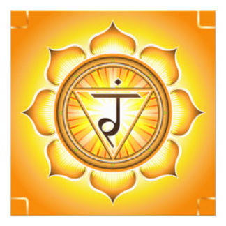 Persönlicher Power Chakra Fotodruck