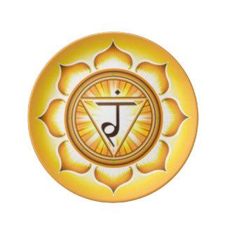 Persönlicher Power Chakra Teller