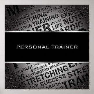Persönlicher Trainer-einzigartiges Plakat Poster