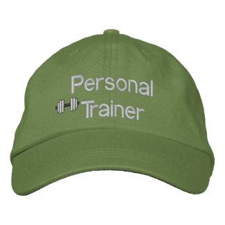 Persönlicher Trainer gestickter Hut Besticktes Baseballcap