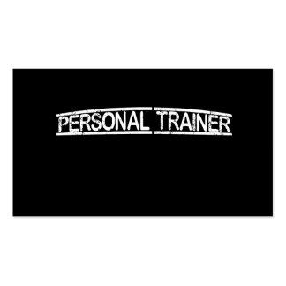 Persönlicher Trainer Visitenkarten