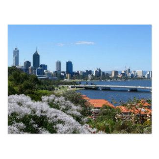 Perth Postkarte