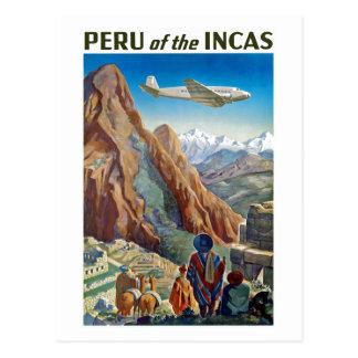 Peru der Inkas Postkarte