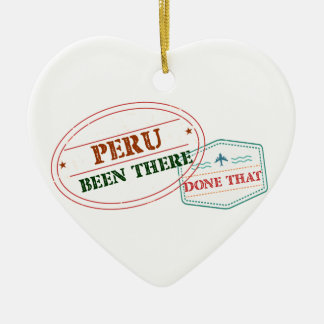 Peru dort getan dem keramik ornament