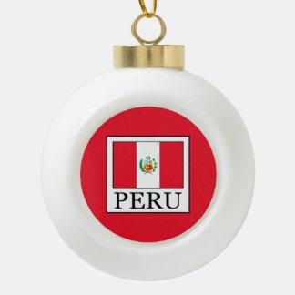 Peru Keramik Kugel-Ornament