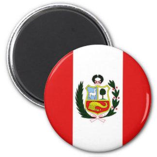 Peru_magnet Runder Magnet 5,7 Cm