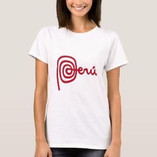Peru-Marke/Marca Peru T-Shirt