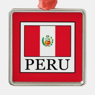 Peru Silbernes Ornament