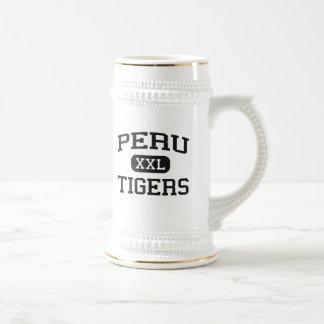 Peru - Tiger - Highschool Perus - Peru Indiana Bierglas