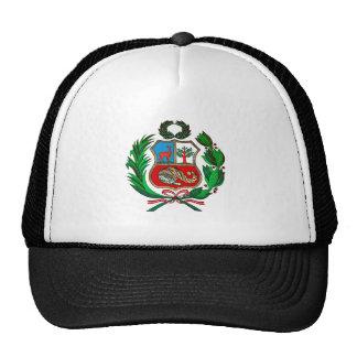 Peru-Wappen Netzkappe