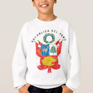 Peru-Wappen Sweatshirt
