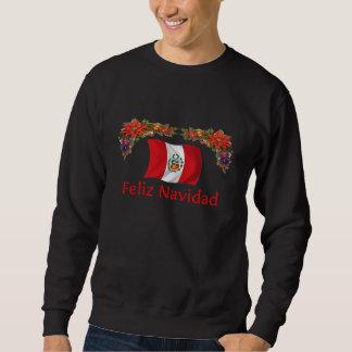 Peru-Weihnachten Sweatshirt