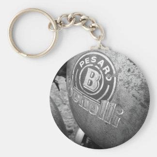 Pesaro Benelli Vintages Motorrad Schlüsselanhänger