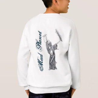 Pest-Mönch-Skizze Sweatshirt