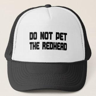 Pet nicht den Redhead Truckerkappe