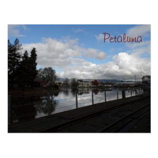 Petaluma, CA Postkarte