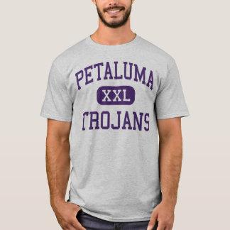 Petaluma - Trojan - hoch - Petaluma Kalifornien T-Shirt