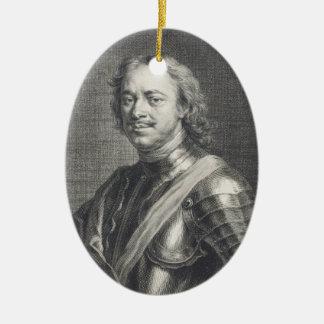 Peter I das große Keramik Ornament