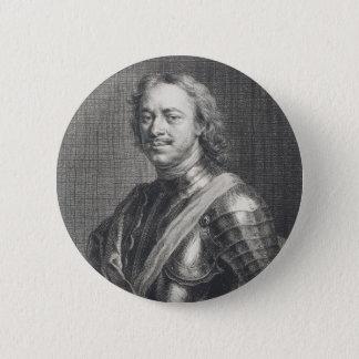 Peter I das große Runder Button 5,7 Cm