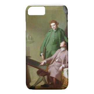 Peter und James Romney, 1766 (Öl auf Leinwand) iPhone 8/7 Hülle