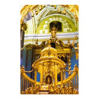 Peter- und Paul-Festungs-St. Petersburg Russland Briefpapier