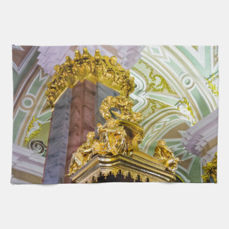 Peter- und Paul-Festungs-St. Petersburg Russland Geschirrtuch