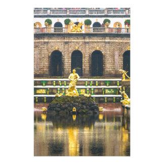 Peterhof Palast und Garten-St. Petersburg Russland Briefpapier