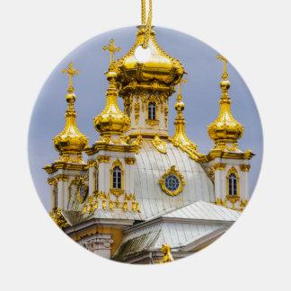 Peterhof Palast und Garten-St. Petersburg Russland Keramik Ornament