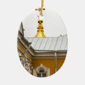 Peterhof Palast und Garten-St. Petersburg Russland Ovales Keramik Ornament