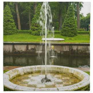 Peterhof Palast und Garten-St. Petersburg Russland Serviette