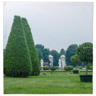 Peterhof Palast und Garten-St. Petersburg Russland Stoffserviette