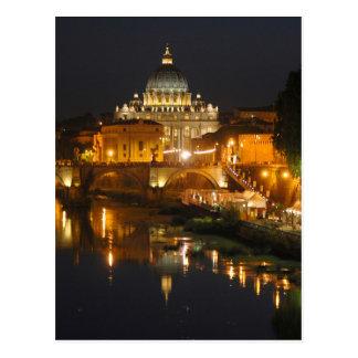 Petersdom - Vatikan - Rom - Italien Postkarte