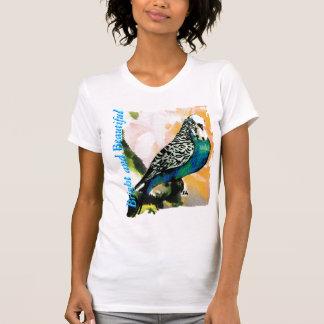 Petie Parakeet-Aquarell T-Shirt