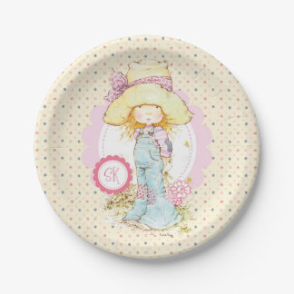 """Petite Fleur"" Party-Papierplatte 7"" Butterblume Pappteller"