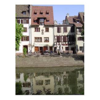 Petite Frankreich, Straßburg Postkarte