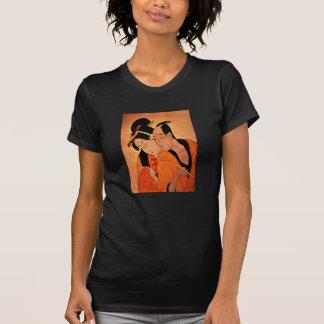 Petite T - Shirt der japanischen Paardamen