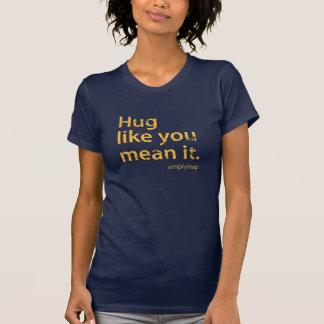 Petite T - Shirt des Umarmungs-Ausflugs