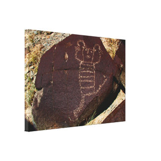 Petroglyphe, Koshari Clown-Tänzer Leinwanddruck
