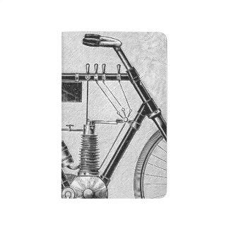 Petrolette Omega Motorrad, 1895 Taschennotizbuch